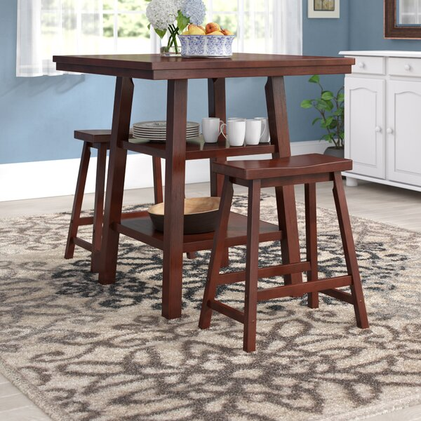 Pratt Street 3 Piece Dining Set by Red Barrel Studio