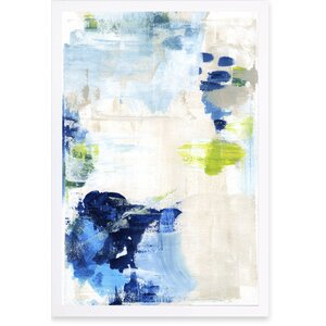 'Perks' Framed Painting Print by Willa Arlo Interiors
