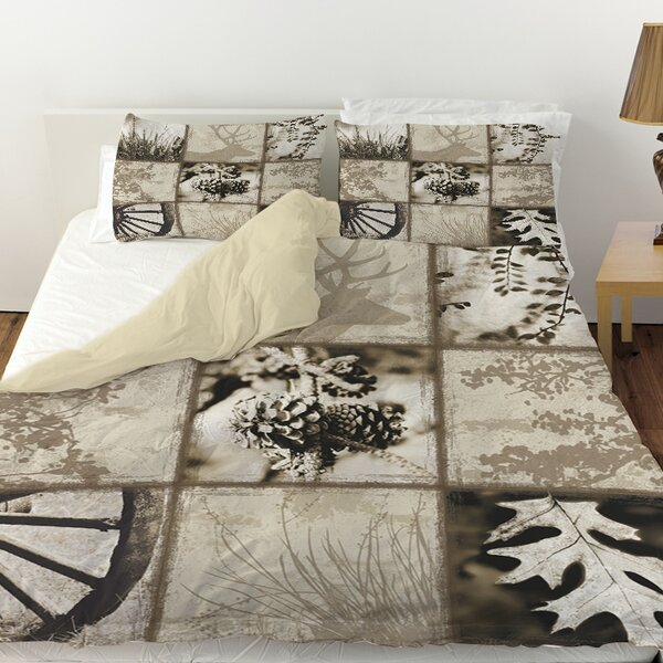 Mountain Retreat I Duvet Cover by Manual Woodworkers & Weavers