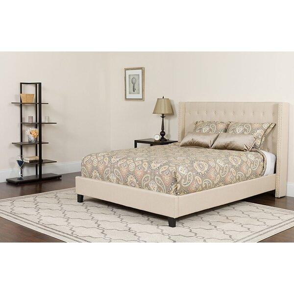Mavis Upholstered Platform Bed with Mattress by Red Barrel Studio