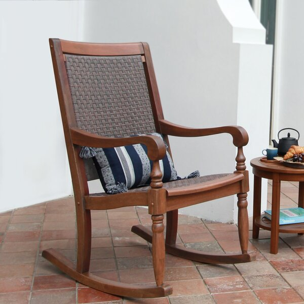 Oisin Oversized Porch Rocking Chair by August Grove