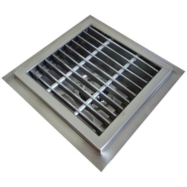 Floor Sump 4 Grid Shower Drain by IMC Teddy