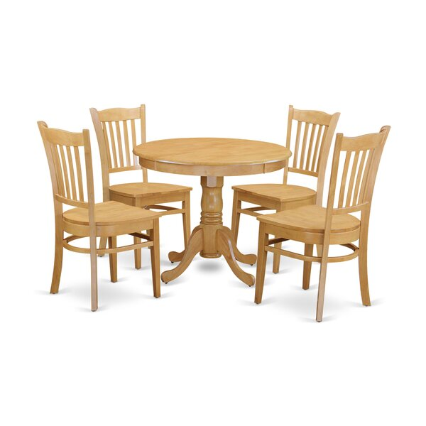 Stoker 5 Piece Dining Set By Charlton Home