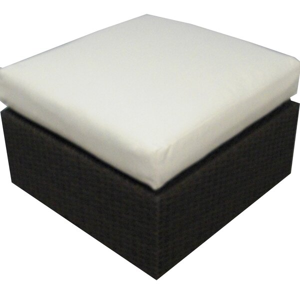 Ronning Outdoor Ottoman with Cushion by Brayden Studio