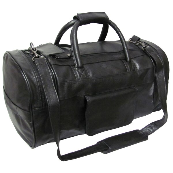 21 Leather Travel Duffel by AmeriLeather