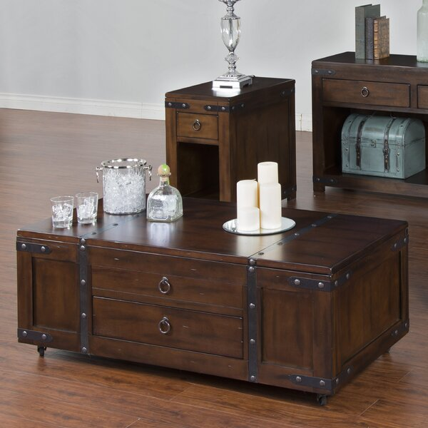 Fresno Coffee Table with Lift Top by Loon Peak