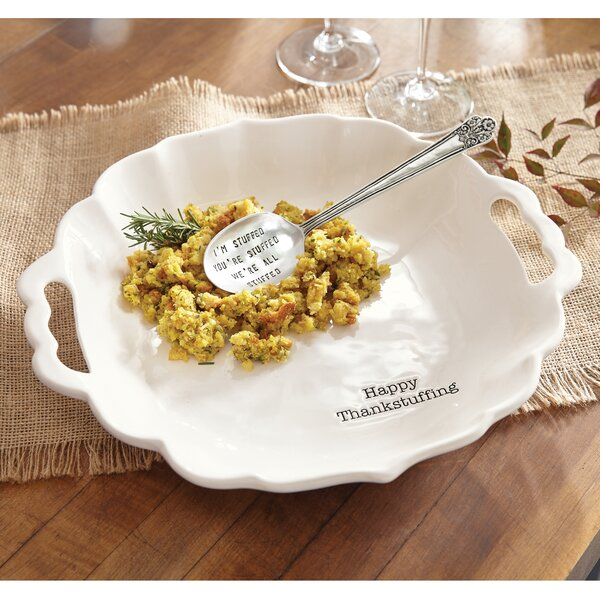 Holiday Stuffing 2 Piece Serving Bowl Set by Mud Pie™