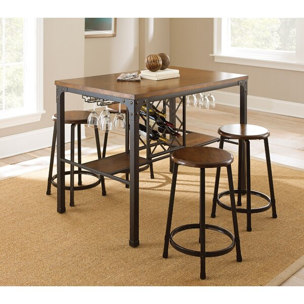 Woodside 5 Piece Pub Table Set by Trent Austin Design