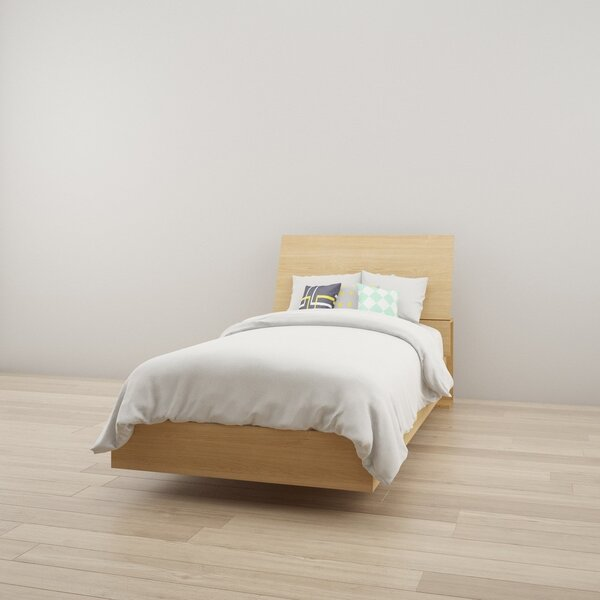 Modern  Mullet Platform Bed By Ebern Designs No Copoun