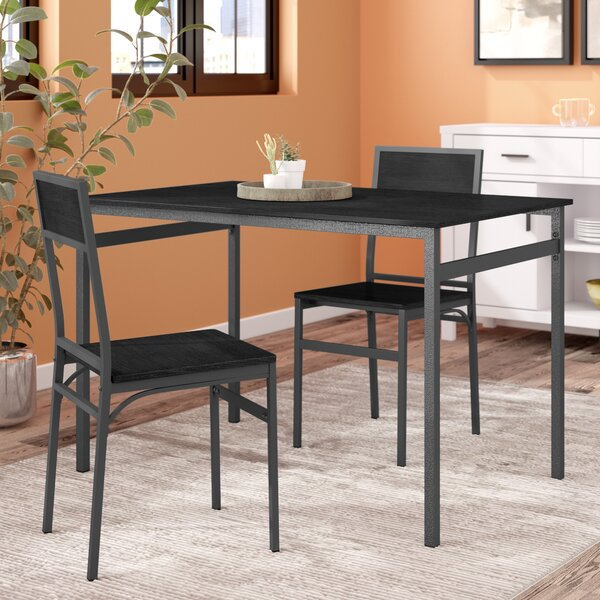 Springfield 3 Piece Dining Set by Latitude Run
