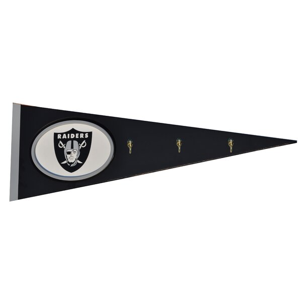 NFL Pennant with Hooks Wall Décor by Fan Creations