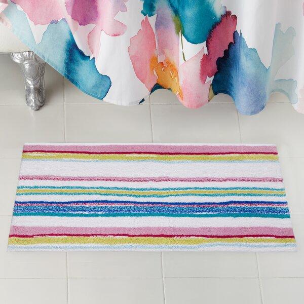 Kech Stripe Bath Rug by bluebellgray