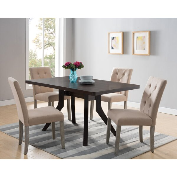 Aiyla Home Utility Dining Table By Latitude Run