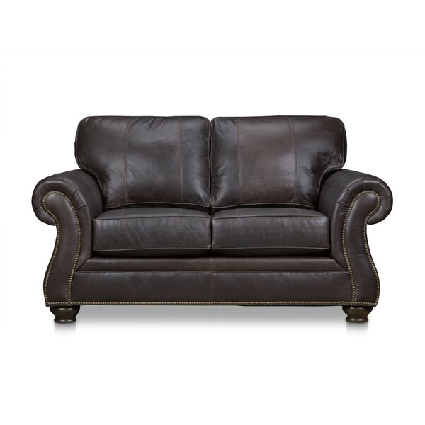 Laramie Leather Loveseat By Stone & Leigh™ Furniture