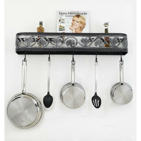 Leaf Wall Mounted Pot Rack by Hi-Lite