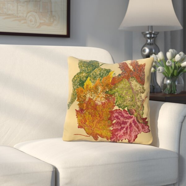 Byrnedale Autumn Outdoor Throw Pillow by Three Posts