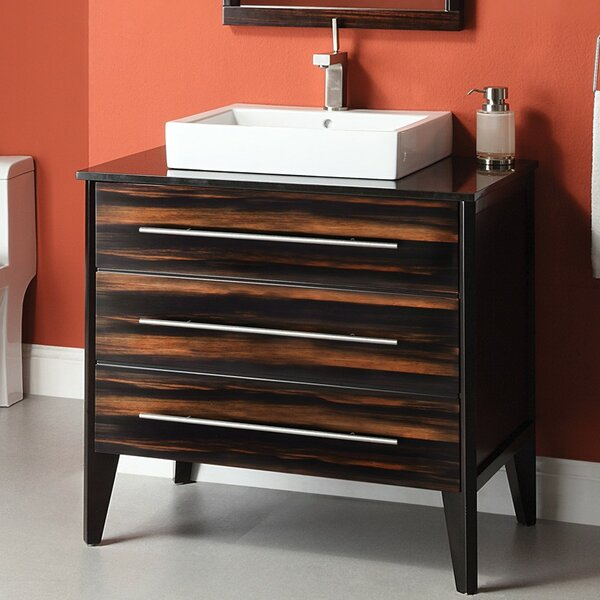 Mila 37 Single Bathroom Vanity Set by DECOLAV