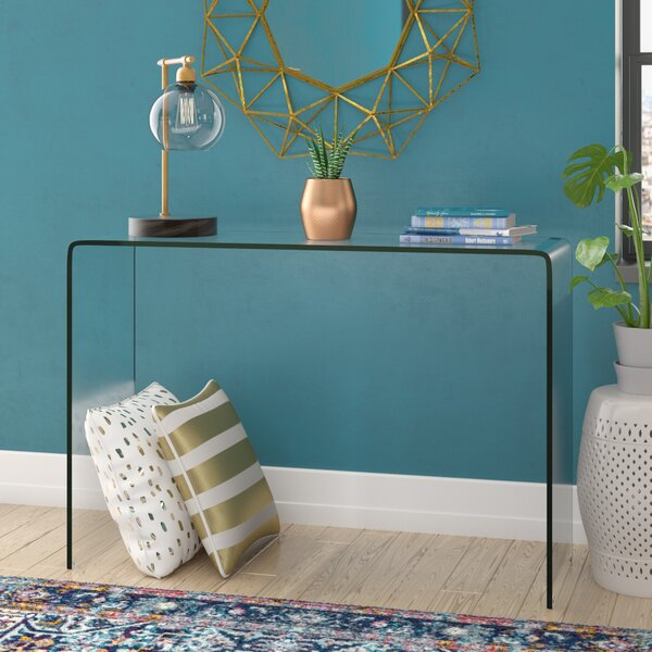 Stephan Contemporary Console Table by Wade Logan Wade Logan