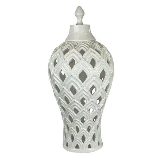 Ceramic Storage Jar by Rosecliff Heights
