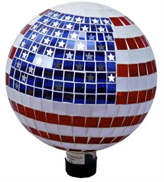 Stars and Stripes Gazing Globe by VCS