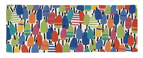Hand-Woven Area Rug by Kate Nelligan