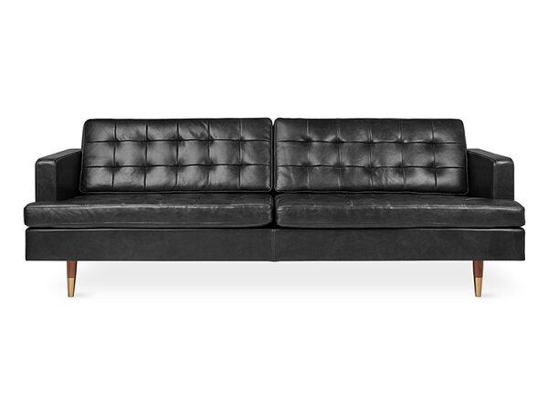 Archer Leather Sofa By Gus* Modern Today Sale Only