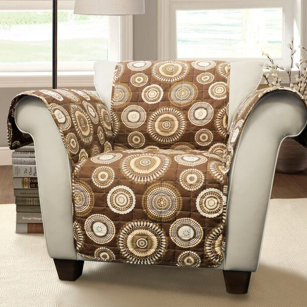 Single T-Cushion Arm Chair Slipcover by Winston Porter