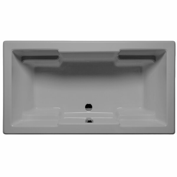 Laguna 72 x 42 Air Jet Bathtub by Malibu Home Inc.
