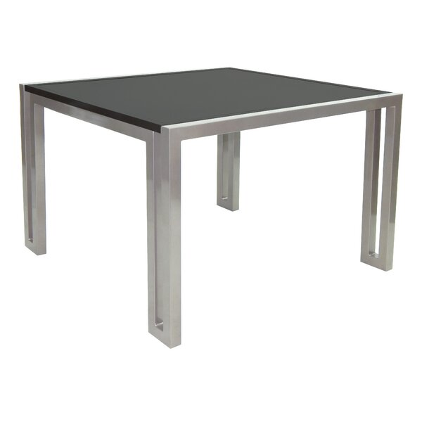 Icon Aluminum Dining Table by Leona