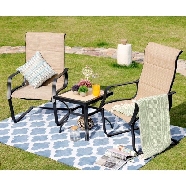Rios 3-Piece Seating Group by Alcott Hill