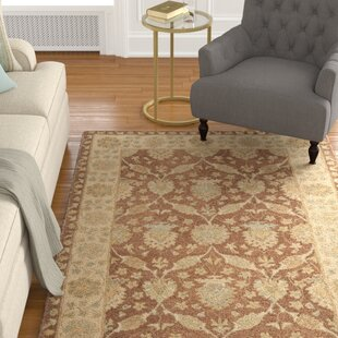 Dunbar Hand-Tufted Wool Brown/Taupe Area Rug by Charlton Home