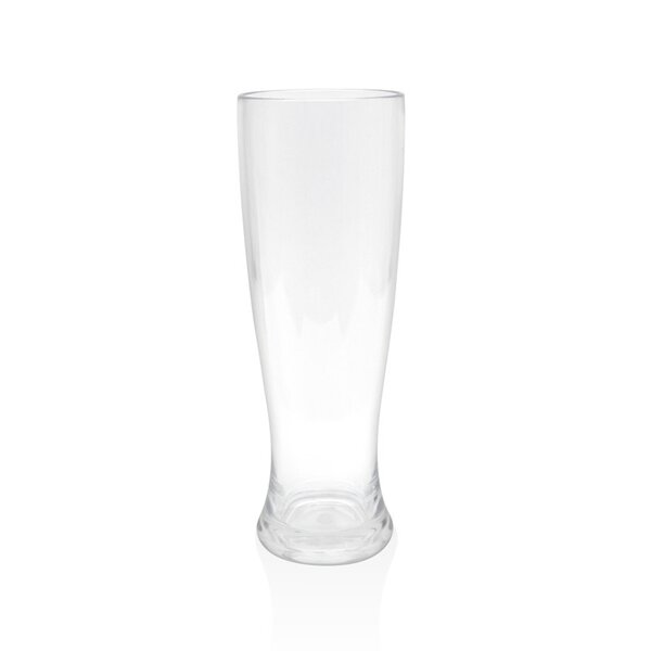 Louanne Pilsner Glass 16 oz. Plastic (Set of 4) by Mint Pantry