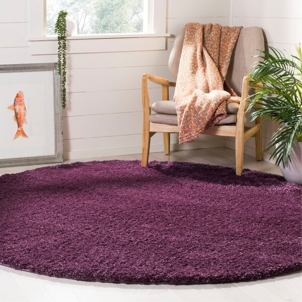 Schmitt Purple Area Rug by Latitude Run