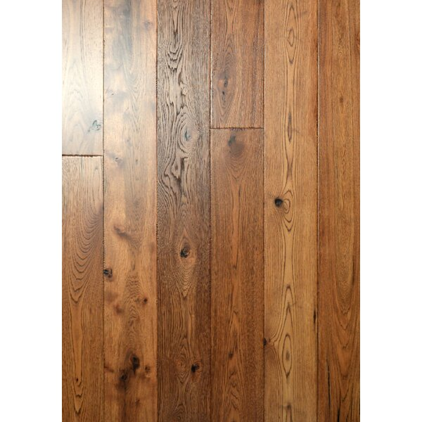 Farmhouse 7-1/2 Engineered Hickory Hardwood Flooring in Chalet by Albero Valley