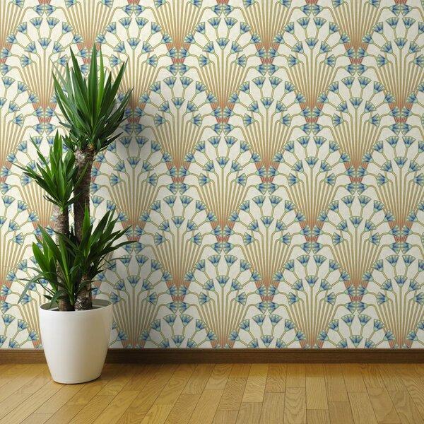 Art Deco Removable Wallpaper Wayfair