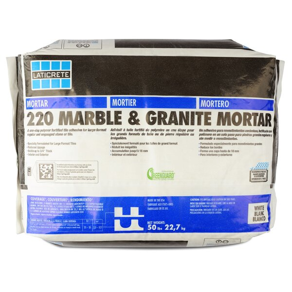 Marble & Granite Mortar 50 Lb by Laticrete