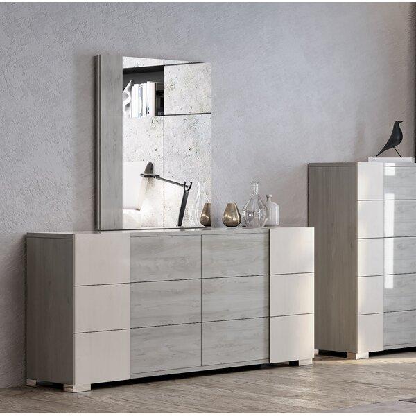 Gerlak 6 Drawer Double Dresser by Orren Ellis