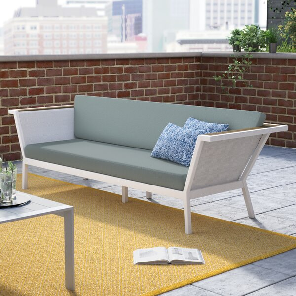 Marina Geo Sofa with Cushions by Brayden Studio