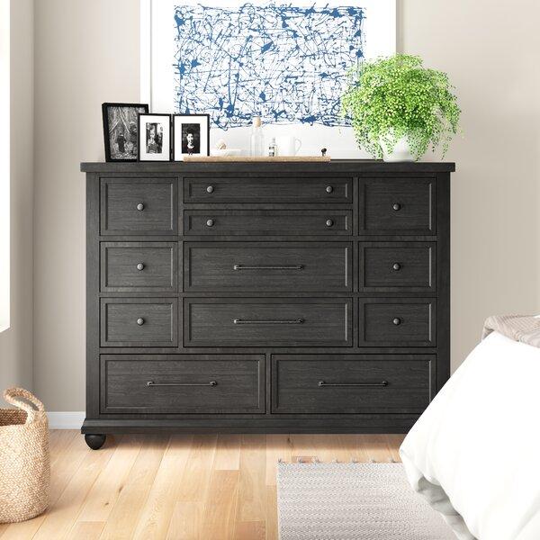 Aberdash 11 Drawer Dresser by Three Posts