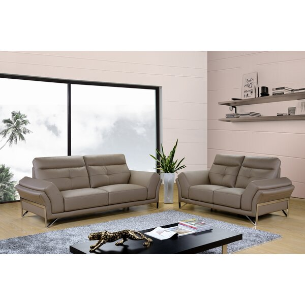 Dela 2 Piece Living Room Set by Hokku Designs