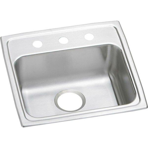 Lustertone 19.5 x 19 Drop-In Kitchen Sink by Elkay