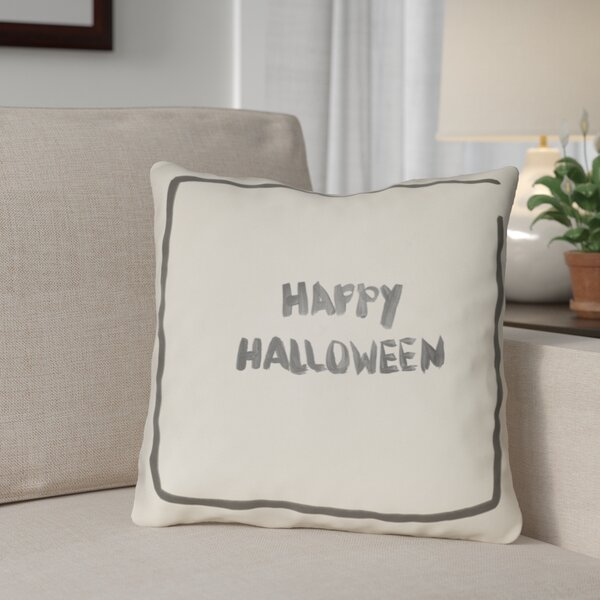 Drew Halloween Throw Pillow by The Holiday Aisle