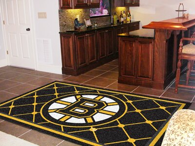 NHL - Boston Bruins 5x8 Rug by FANMATS