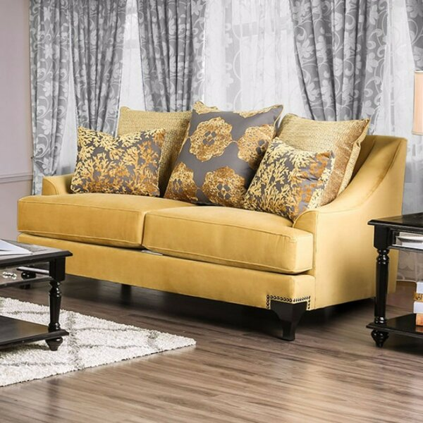 Melany Luxurious Loveseat by Everly Quinn