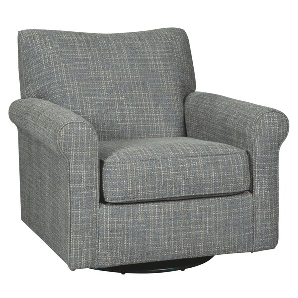 Sumlin Swivel Armchair by Gracie Oaks