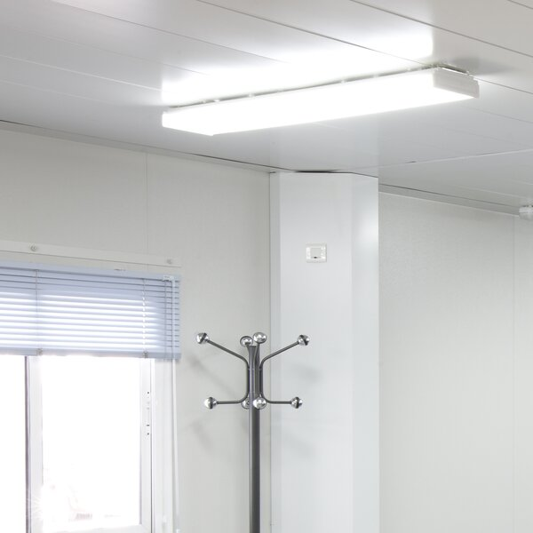 High Output Dimmable Wraparound LED High Bay by NICOR Lighting