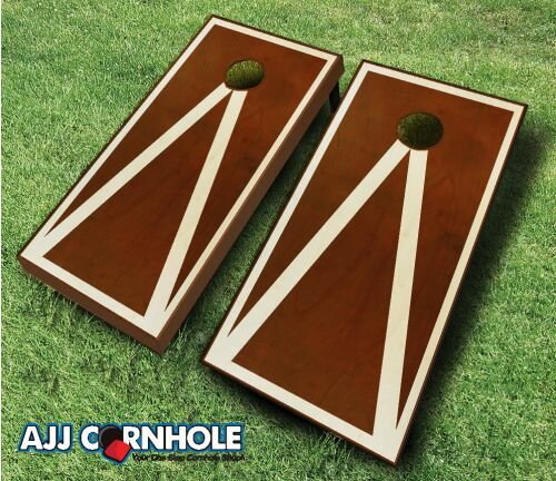 10 Piece Pyramid Cornhole Set by AJJ Cornhole