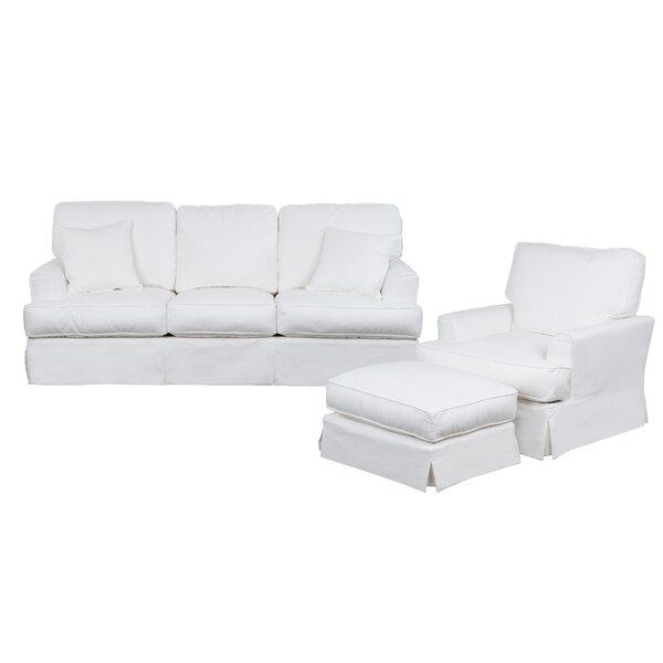 Elenora 3 Piece Sleeper Living Room Set by Highland Dunes Highland Dunes
