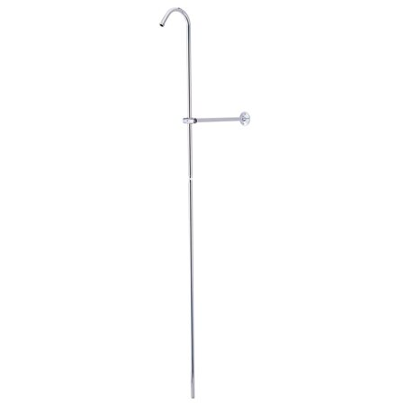 Vintage Shower Riser and Wall Support by Kingston Brass