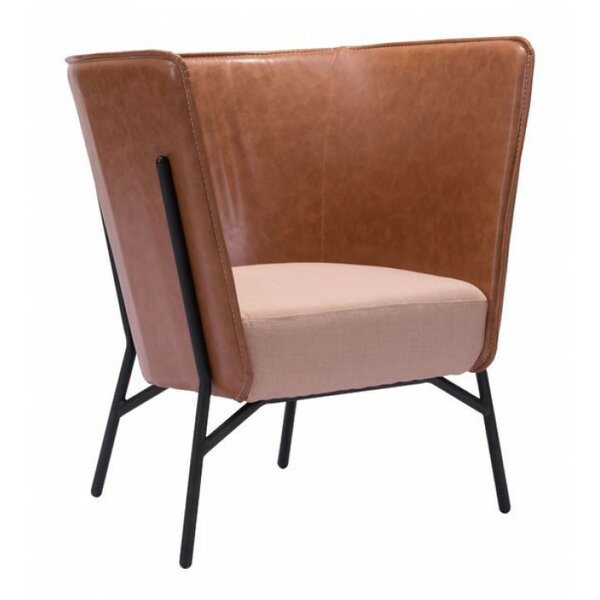 Lysander Occasional Barrel Chair by Mercury Row